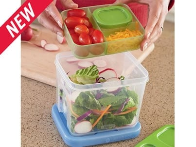Pack a Perfect Lunch with Rubbermaid LunchBlox Containers