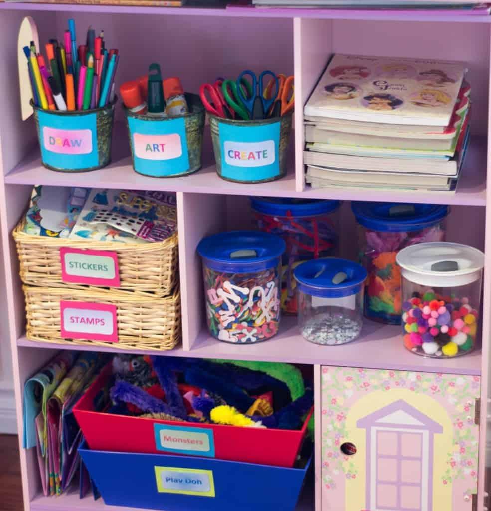 An Organized Playroom Clutterbug Me