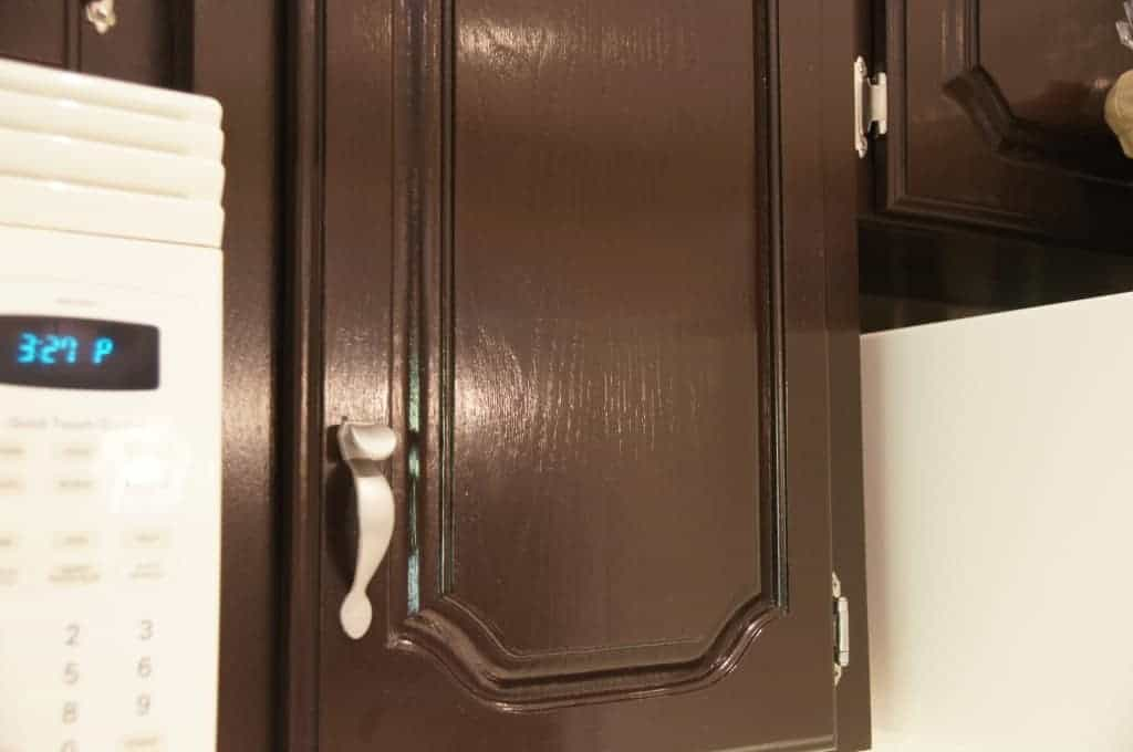 Cabinet Door Gel Stain