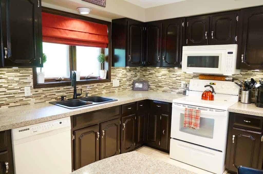 Gel Staining Kitchen Cabinets Captivating How To Gel Stain Kitchen Cabinets Design Ideas