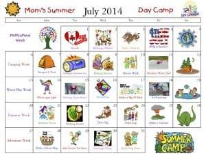 Mom's Summer Camp