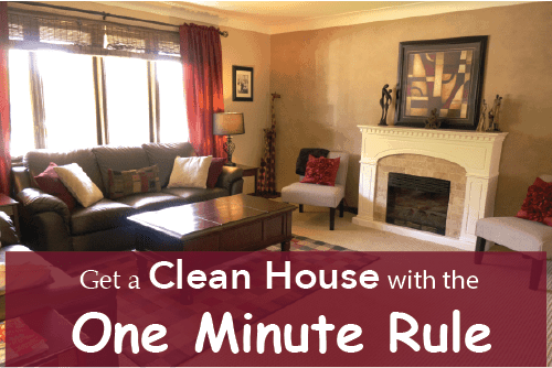 Brilliant Get A Clean House With The One Minute Rule Download Free Architecture Designs Terchretrmadebymaigaardcom