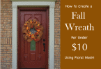 How to Make a Fall Wreath for Under