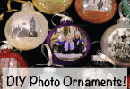 How to make DIY Photo Christmas Ornaments