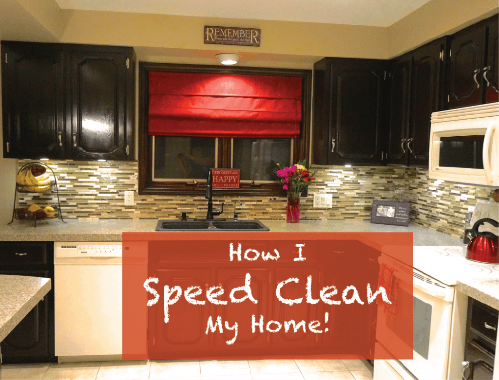 How To Speed Clean Your Home