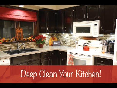 Deep clean your kitchen for Deep clean kitchen