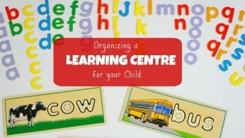 Organizing a Learning Centre for your Child