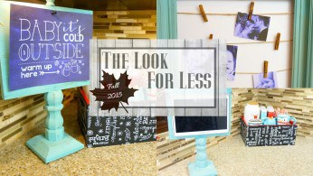 Michaels Decor Hack – The Look for Less Collab
