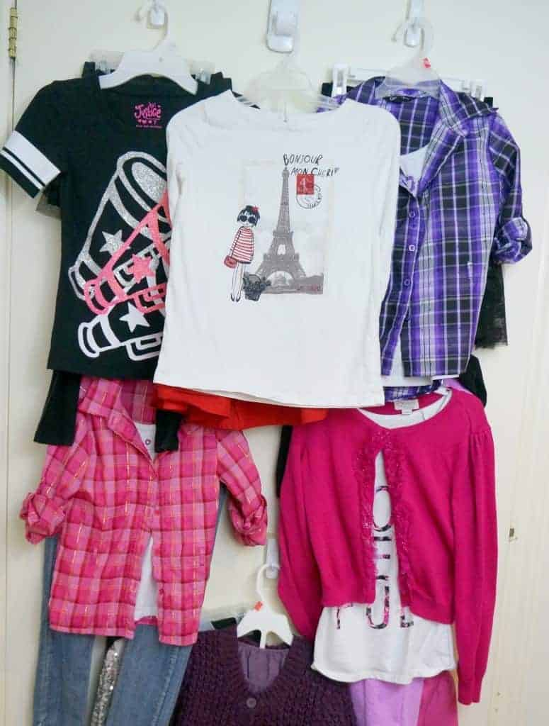 Organized Outfits
