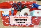 Holiday Organizing Tip – Decorating Toolbox!