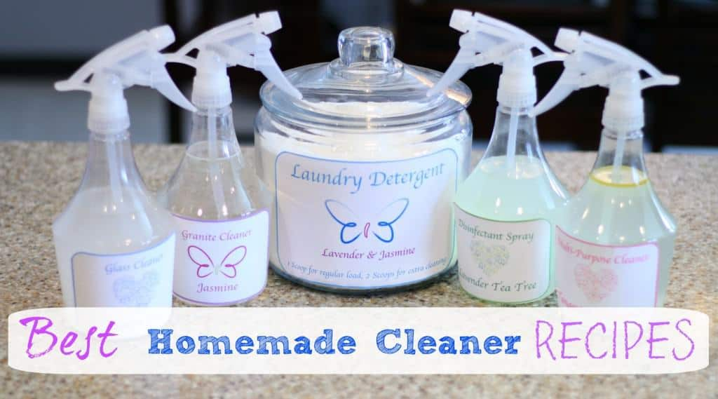 Best homemade natural cleaners recipe clutterbug me - Home made cleaning products ...