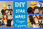 DIY Craft – How to Make Star Wars Finger Puppets