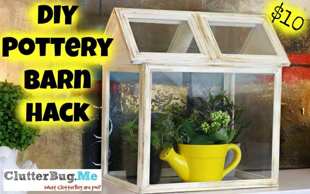 Dollar Store Pottery Barn Hack Diy Terrarium Clutterbug