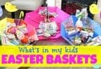What's In My Kids Easter Baskets