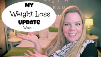 My Weight Loss Update – Week One!