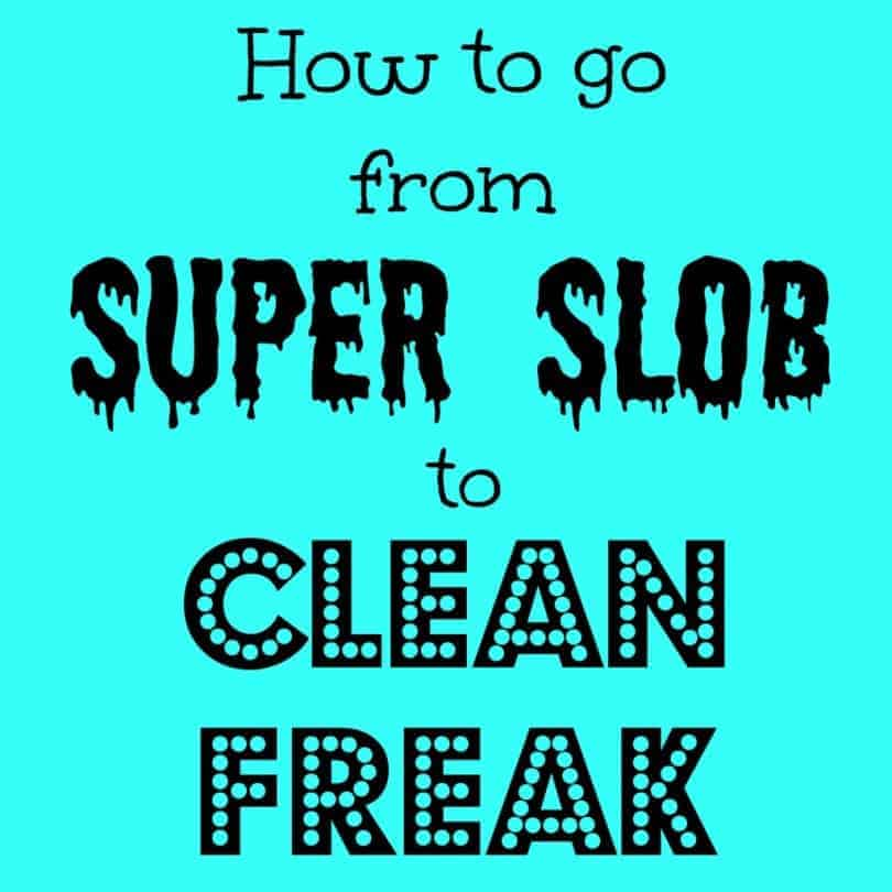 How to go from Super Slob to Clean Freak Podcast