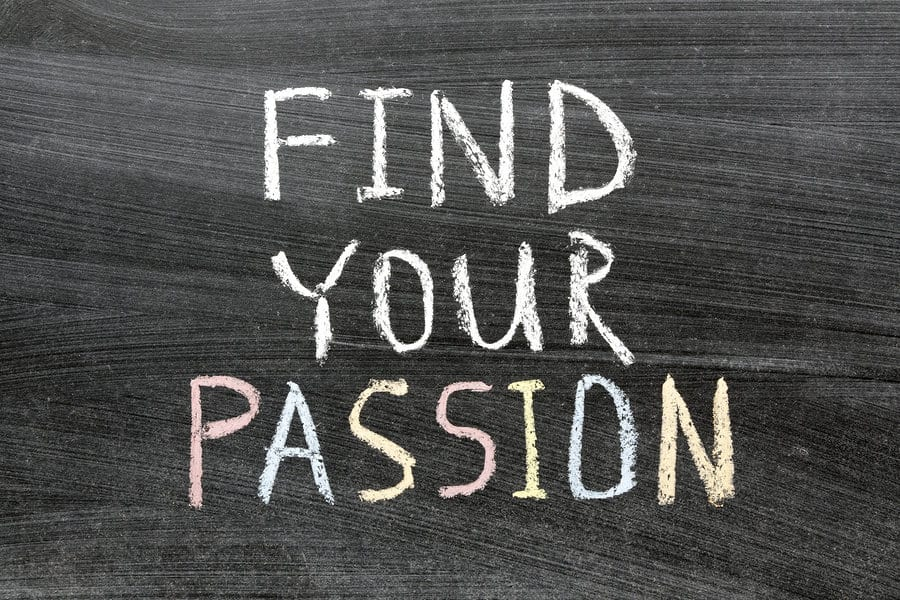 How to find your passion!