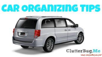 Car Organizing Tips (for Mom Mobiles)