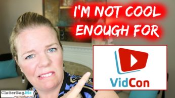 I'm not cool enough for VidCon!