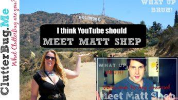 I Think YouTube Should Meet Matt Shep