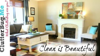 A Clean Home is Beautiful – Organizing Tip of the Day