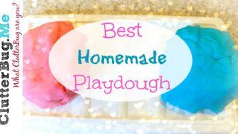 Best Homemade Playdough – Make it Monday