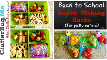 Back to School Lunch Making Hacks (for picky eaters)