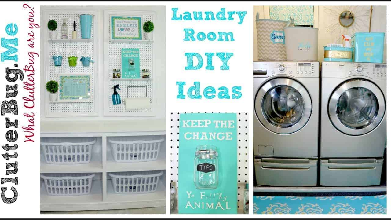 laundry room organization ideas 3 easy diy laundry room ideas on a budget 11855