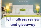 Lull Mattress Review and Giveaway