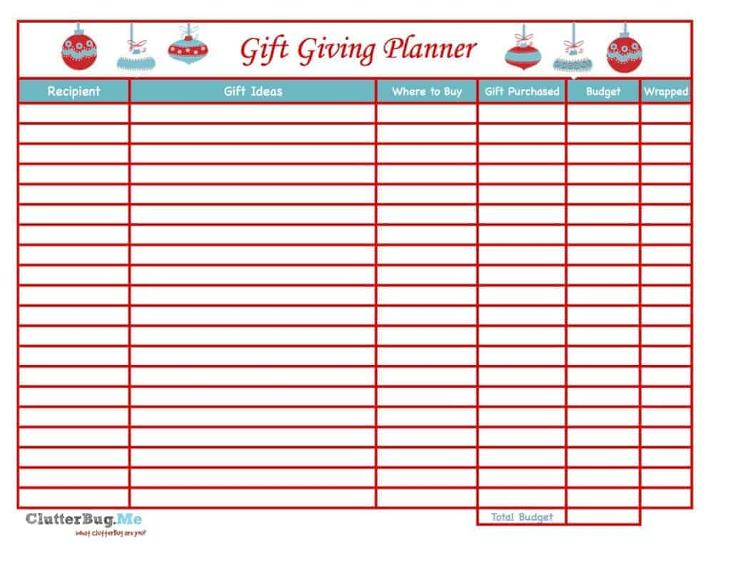 gift-planning-printable