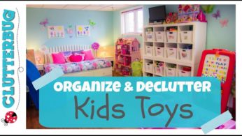 Organize and Declutter Toys with Me