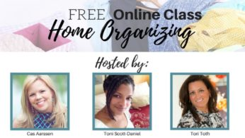 Free Online Organizing Class