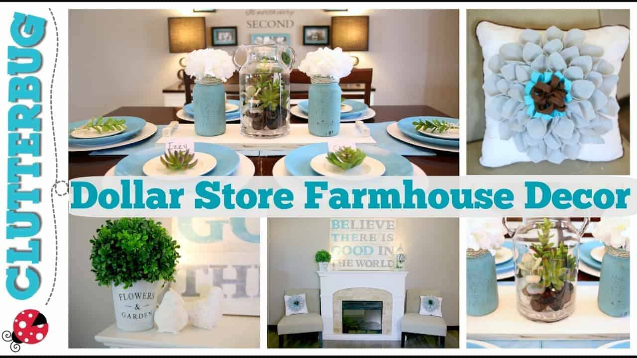 Easy Dollar Store Farmhouse Decor Ideas & DIY Felt Pillows