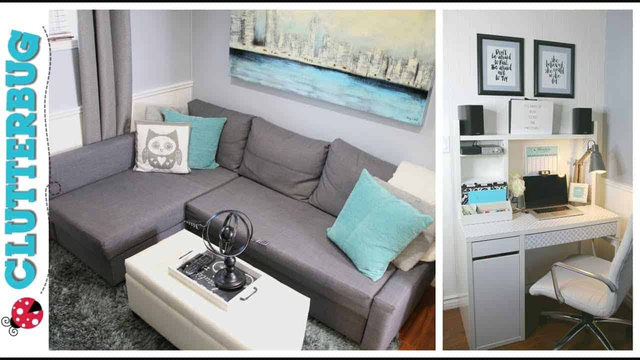 Office makeover small home office decorating and for Office makeover ideas