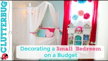 Decorating a Small Bedroom on a Budget – Makeover, Ideas and Reveal