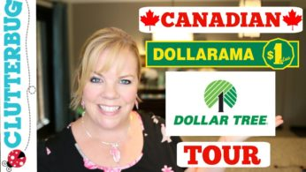 Canadian Dollar Store Tour – SHOP WITH ME – Dollarama and Dollar Tree