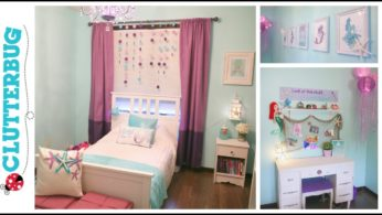 Mermaid DIY Decor Ideas on a Budget – Before and After Room Tour