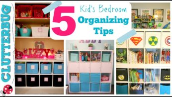 How to Organize a Kid's Bedroom – My 5 Best Ideas & Tips
