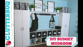 Create more storage in your home on a budget – DIY Mudroom Ideas