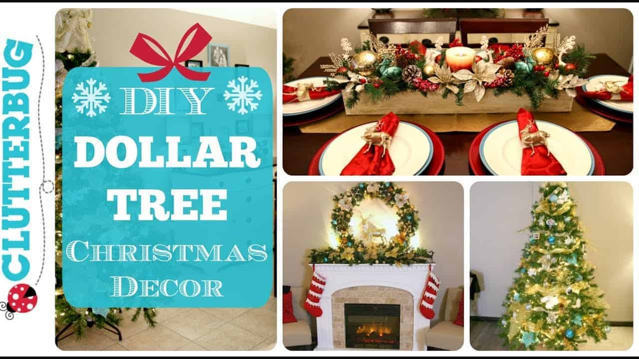 diy dollar tree christmas decor 2017