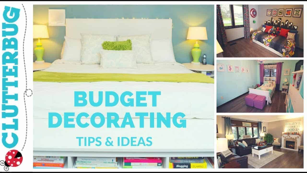 Home Decorating Tips & Ideas on a Budget |