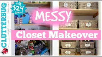 Organize a Messy Hall Closet – Messy Monday Makeover