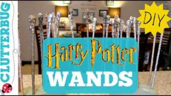 Quick and Easy DIY Harry Potter Wands –  Only 25 Cents Each 👻