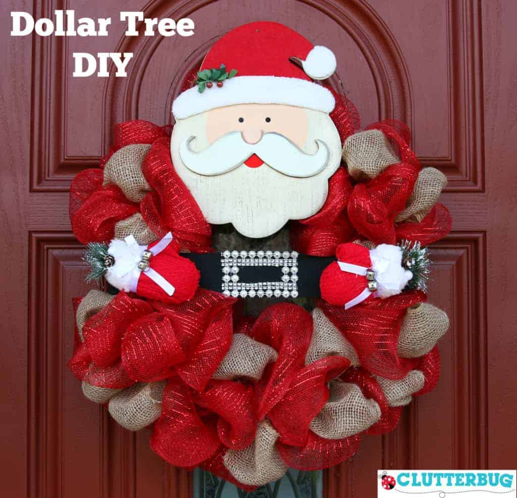 Dollar Tree Christmas Diy Ideas With Free Download Clutterbug
