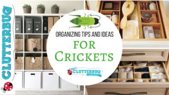 Organizing Tips and Ideas for Crickets
