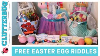 FREE Easter Egg Hunt Riddles and Basket Ideas