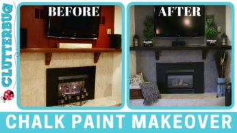 Easy Chalk Paint Makeover – Before and After