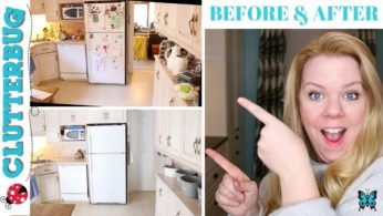 How to Organize a Messy Kitchen – Before and After Kitchen Organization