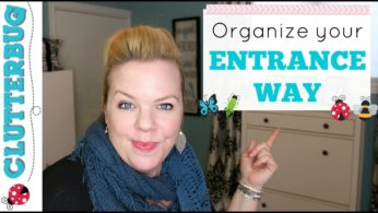 Organizing Tips for your Entrance Way – Organize for your Organizing Style