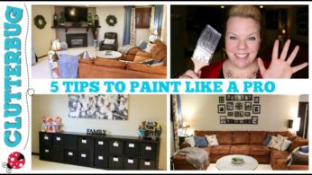 HOME DECORATING TIP – 5 TIPS TO PAINT A ROOM LIKE A PRO
